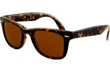 Ray-Ban RB4105 SV Prescription Sunglasses - Light Havana Frame / 54 mm Prescription Lenses, 710-5420
