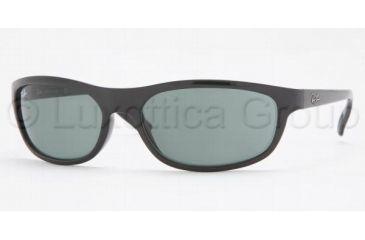 Ray-Ban RB 4114 Sunglasses Styles - Black Frame / Green Lenses, 601-71-6218