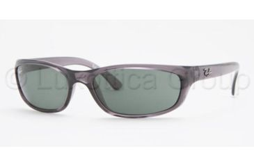 Ray-Ban RB4115 SV Prescription Sunglasses - Smokey Black Frame / 57 mm Prescription Lenses, 606-71-5716