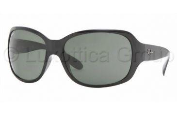 Ray-Ban RB4118 Progressive Prescription Sunglasses RB4118-601-6200 - Frame Color Black, Lens Diameter 62 mm