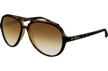 Ray-Ban RB 4125 Sunglasses Styles - Light Havana Frame / Crystal Brown Gradient Lenses, 710-51-5913