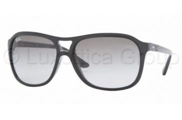 Ray-Ban RB 4128 Sunglasses Styles - Black Frame / Crystal Gray Gradient Lenses, 601-32-6015