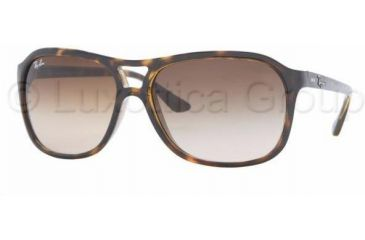 Ray-Ban RB4128 Single Vision Prescription Sunglasses RB4128-710-51-6015 - Lens Diameter: 60 mm, Frame Color: Light Havana