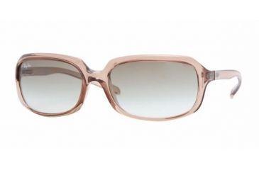 Ray-Ban RB 4131 Sunglasses Styles - Light Brown Frame / Green Gradient Lenses, 752-8E-5917