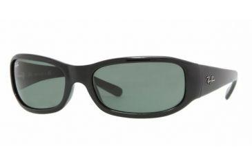 61df6e315e Ray-Ban RB 4137 Sunglasses Styles - Black Frame   Green Lenses