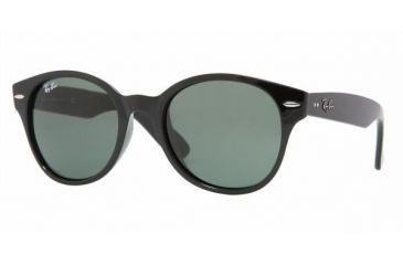Ray-Ban RB 4141 Sunglasses Styles - Black Frame / Crystal Green Lenses, 601-5120