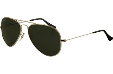 Ray-Ban Bifocal Sunglasses RB8041 with Lined Bi-Focal Rx Prescription Lenses RB8041-086-M3-5814 - Lens Diameter: 58 mm, Frame Color: Titanium