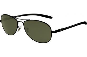Ray-Ban RB8301 Progressive Sunglasses - Black Frame / 59 mm Prescription Lenses, 002-5914