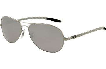 Ray-Ban RB8301 Progressive Sunglasses - Gunmetal Frame / 56 mm Prescription Lenses, 004-40-5614