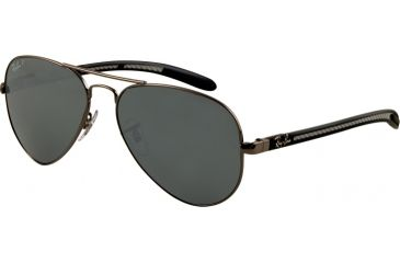 Ray-Ban RB8307 Single Vision Prescription Sunglasses RB8307-004-N8-5814 - Lens Diameter: 58 mm, Frame Color: Gunmetal
