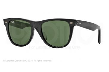Ray-Ban RB2140F Bifocal Prescription Sunglasses RB2140F-901S-54 - Lens Diameter 54 mm, Frame Color Matte Black
