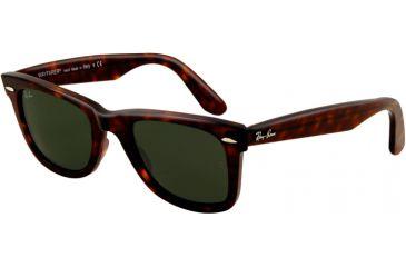 Ray-Ban RB2140F Bifocal Prescription Sunglasses RB2140F-902-52 - Lens Diameter 52 mm, Lens Diameter 52 mm, Frame Color Tortoise
