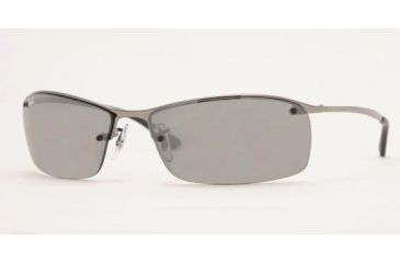 Merveilleux Ray Ban RB3183 SV Prescription Sunglasses   Gunmetal Frame / 63 Mm  Prescription Lenses,