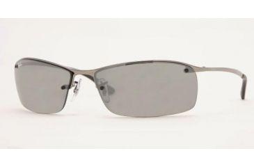 1fb498edda0cf0 Ray-Ban RB3183 Progressive Sunglasses - Gunmetal Frame   63 mm Prescription  Lenses