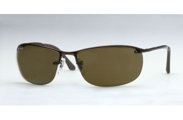 dec4e77ea32 Ray-Ban RB3187 Sunglasses 014 73-63 - Brown Frame