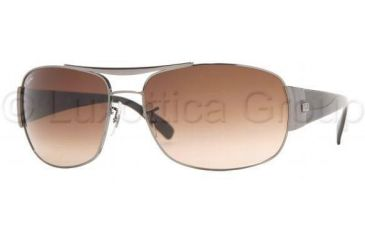 Ray-Ban RB3357 Sunglasses 004/51-6316 - Gunmetal Crystal Brown Gradient