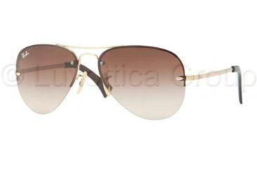 Ray-Ban RB3449 Sunglasses 001/13-5914 - Arista Brown Gradient