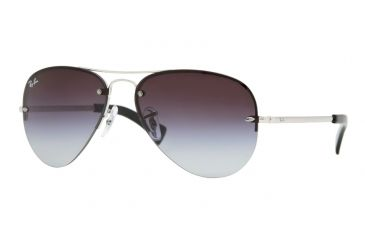 9d7c18f677 Ray-Ban RB3449 Sunglasses 003 8G-59 - Silver Frame