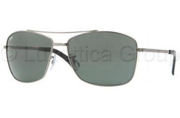 Ray-Ban RB3476 Sunglasses 004/71-6316 - Gunmetal Frame, Green Lenses