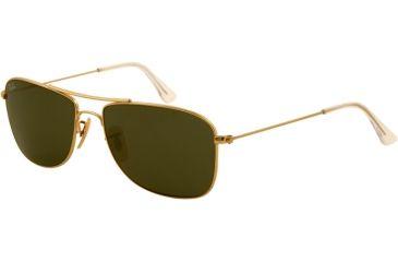 Ray-Ban RB3477 Single Vision Prescription Sunglasses RB3477-001-5916 - Lens Diameter 59 mm, Frame Color Arista