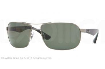 Ray-Ban RB3492 Single Vision Prescription Sunglasses RB3492-004-58-62 - Lens Diameter 62 mm, Frame Color Gunmetal