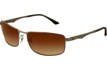 Ray-Ban RB3498 Sunglasses 004/13-6417 -, Brown Gradient Lenses