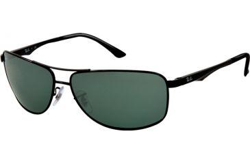 Ray-Ban RB3506 Bifocal Prescription Sunglasses RB3506-002-71-64 - Lens Diameter 64 mm, Frame Color Black