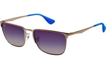 Ray-Ban RB3508 Sunglasses 004 4L-56 - Gunmetal Frame, Gradient Blue d9d00397ce