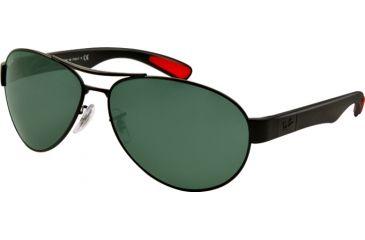 Ray-Ban RB3509 Bifocal Prescription Sunglasses RB3509-006-71-63 - Lens Diameter 63 mm, Lens Diameter 63 mm, Frame Color Matte Black