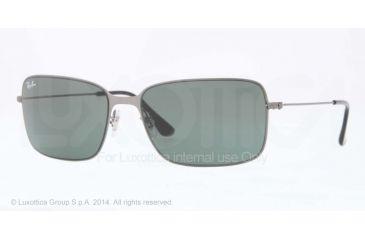 Ray-Ban RB3514 Progressive Prescription Sunglasses RB3514-147-71-58 - Lens Diameter 58 mm, Frame Color Sad Demi Glos Gunmetal