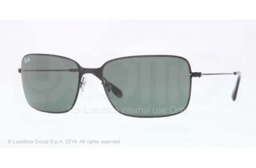 Ray-Ban RB3514 Progressive Prescription Sunglasses RB3514-153-71-58 - Lens Diameter 58 mm, Frame Color Sand Demi Glos Black