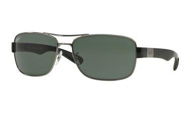 57ccea9117 Ray-Ban RB3522 Sunglasses 004 71-61 - Gunmetal Frame