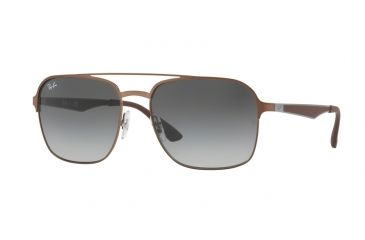 40afb77247 Ray-Ban RB3570 Single Vision Prescription Sunglasses RB3570-121-11-58 -