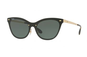 ebb13439417 Ray-Ban BLAZE CAT EYE RB3580N Single Vision Prescription Sunglasses RB3580N- 043-71