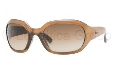 Ray-Ban RB4123 Sunglasses Styles Old Gold-Black Frame w/ Brown Gradient 60 mm Diameter Lenses, 736-13-6021