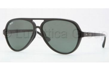 Ray-Ban RB4125F Sunglasses 901/71-5913 - Black Frame, Green Lenses
