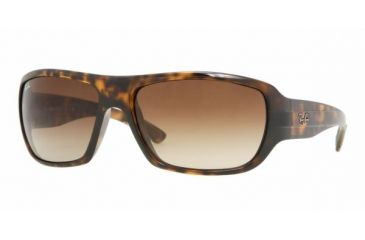 Ray Ban RB4150 #710/51 - Light Havana Frame, Crystal Brown Gradient Lenses