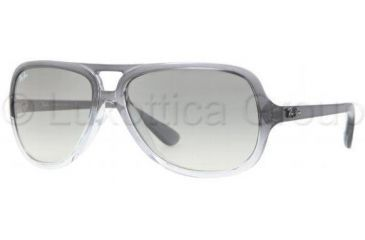 Ray-Ban RB4162 Bifocal Prescription Sunglasses RB4162-818-32-5915 - Lens Diameter: 59 mm, Frame Color: Gray Gradient On Transparent