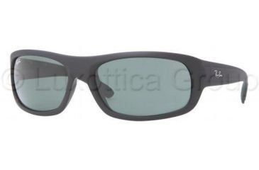Ray-Ban RB4166 Single Vision Prescription Sunglasses RB4166-622-6318 - Lens Diameter: 63 mm, Frame Color: Black Rubber