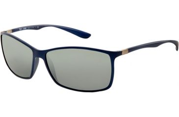 Ray-Ban RB4179 Sunglasses 601588-6213 - Blue Frame, Gray Silver Mirror Gradient Lenses