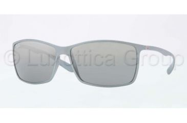 Ray-Ban RB4179 Sunglasses 601788-6213 - Silver Frame, Gray Silver Mirror Gradient Lenses