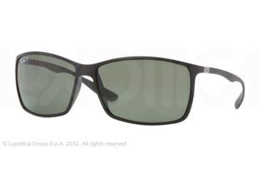 Ray-Ban RB4179 Sunglasses 601S9A-6213 - Matte Black Frame, Green Lenses