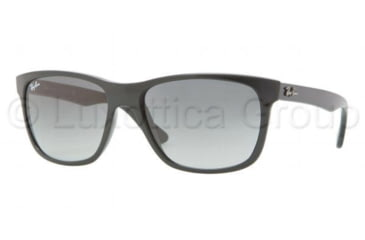 Ray-Ban RB4181 Sunglasses 601/71-5716 - Black Frame, Crystal Gray Gradient Lenses