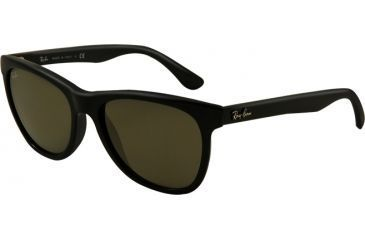 Ray-Ban RB4184 Sunglasses 601-5417 - Black Frame, Crystal Green Lenses