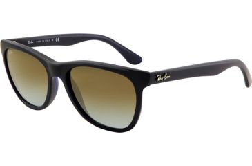 Ray-Ban RB4184 Sunglasses 895/96-5417 - Matte Blue Frame, Crystal Blue Faded Brown Lenses