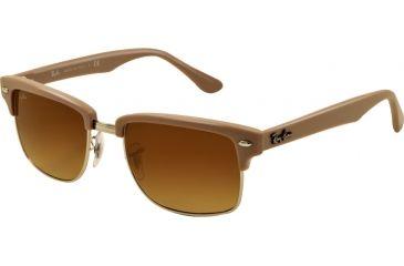 ee6af902cd Ray-Ban RB4190 Sunglasses 600985-5219 - Demi Gloss Matte Beige Frame