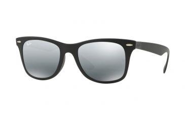 95592b60b64 Ray-Ban RB4195F Sunglasses 601S88-52 - Matte Black Frame