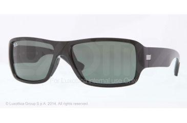 Ray-Ban RB4199 Sunglasses 601/71-61 - Black Frame, Green Lenses