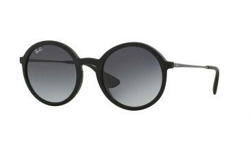 f3ccac87b17 Ray-Ban RB4222 Sunglasses 622 8G-50 - Black Rubber Frame