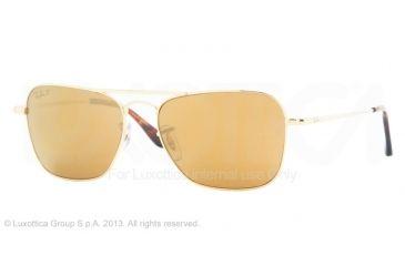 Ray-Ban RB8034K Bifocal Prescription Sunglasses RB8034K-040KN3-58 - Lens Diameter 58 mm, Frame Color Gold